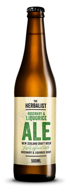 The Herbalist Rosemary and Liquorice Ale | Herbal Beer | New Zealand Beer | Craft Beer