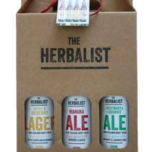 The Herbalist 3-Bottle Gift Pack with Lager